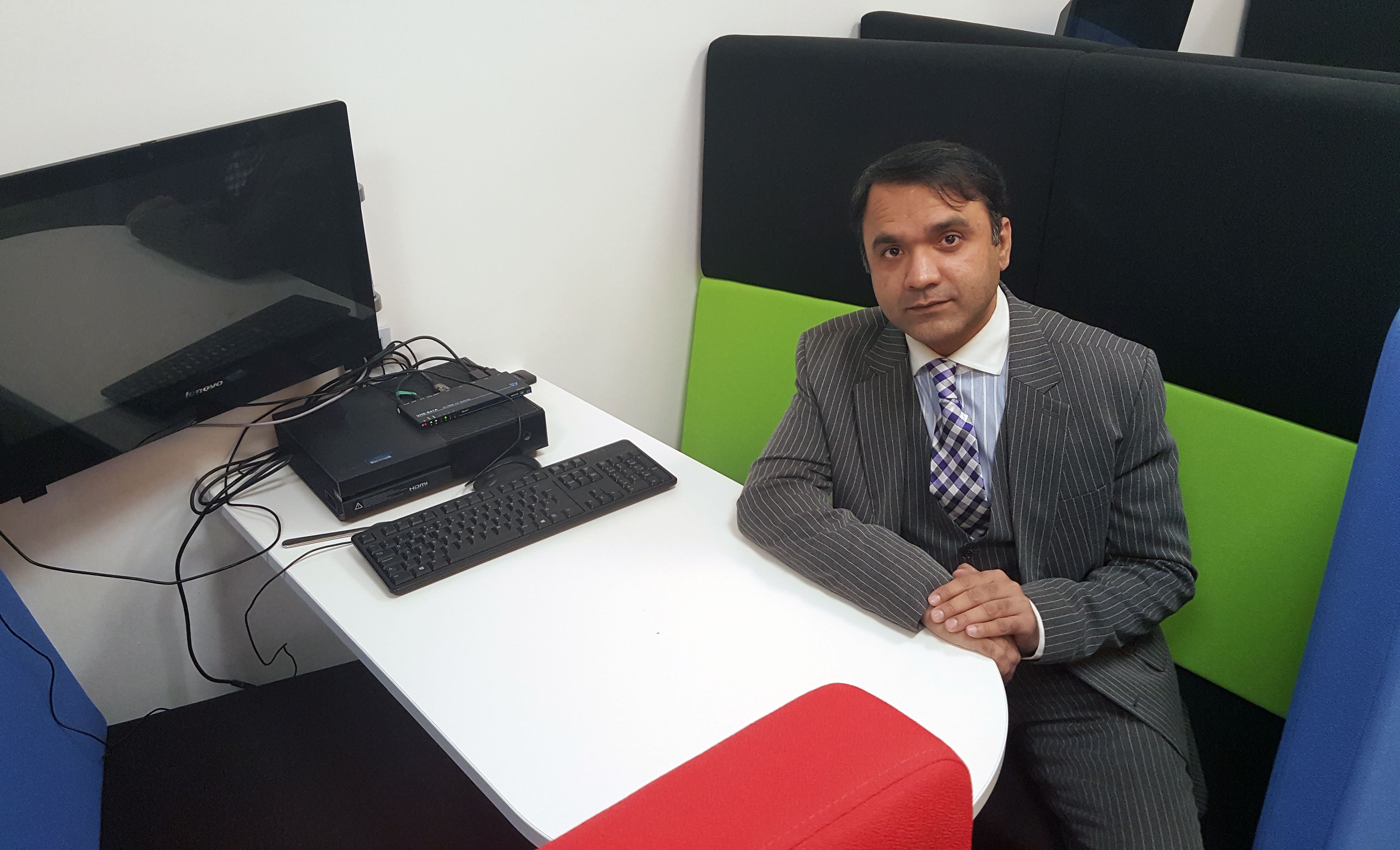 Syed Shah, Head of information security