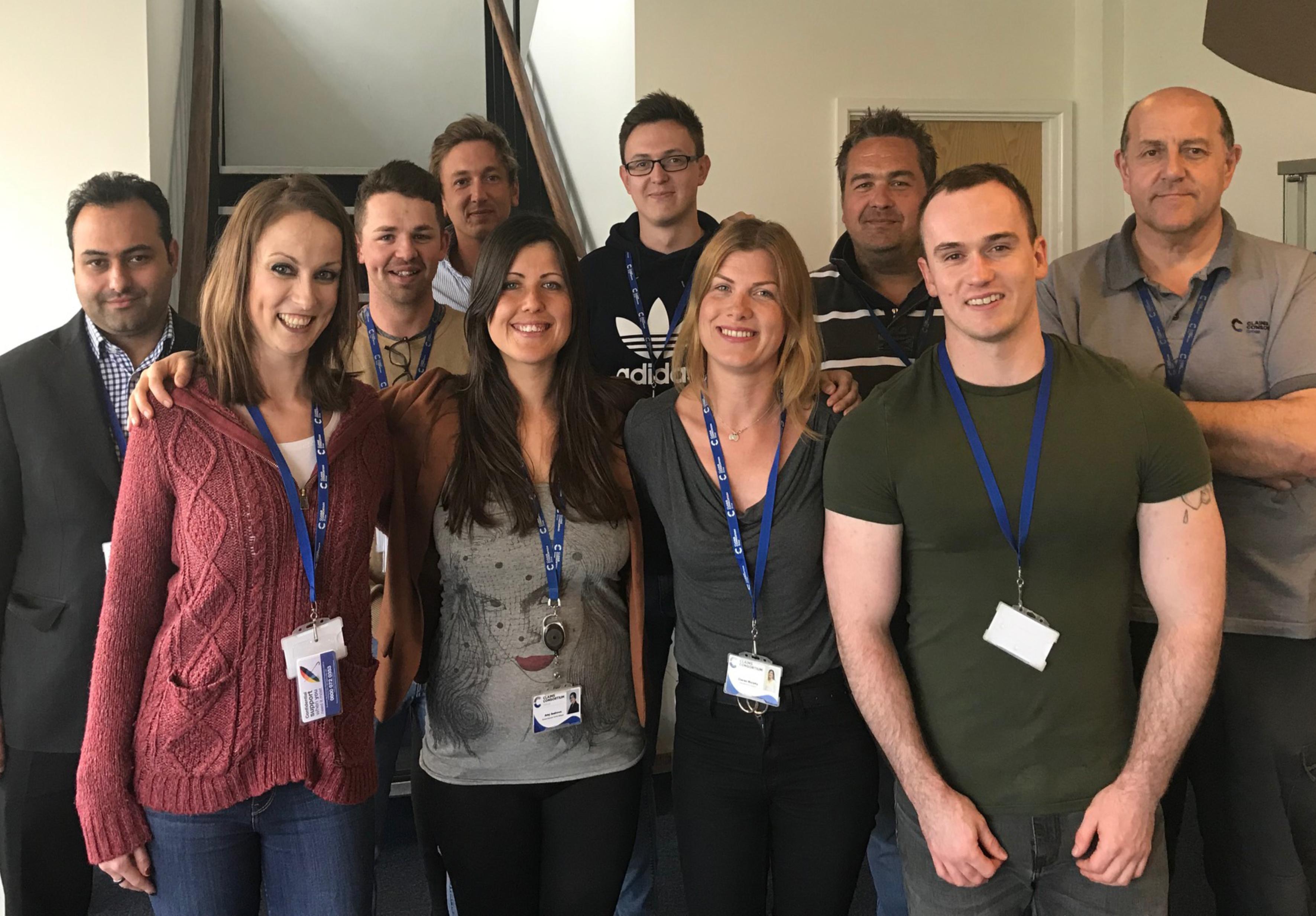 iuad dementia fundraising team