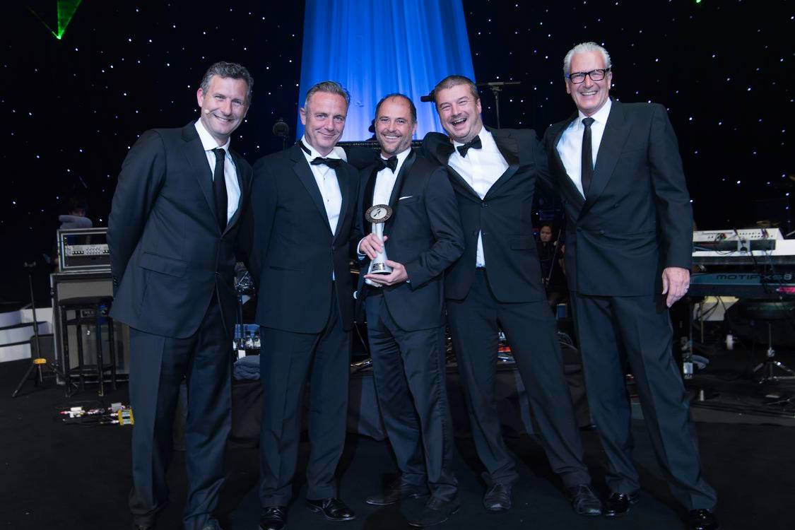Claims Consortium receives an award at the BIA Awards